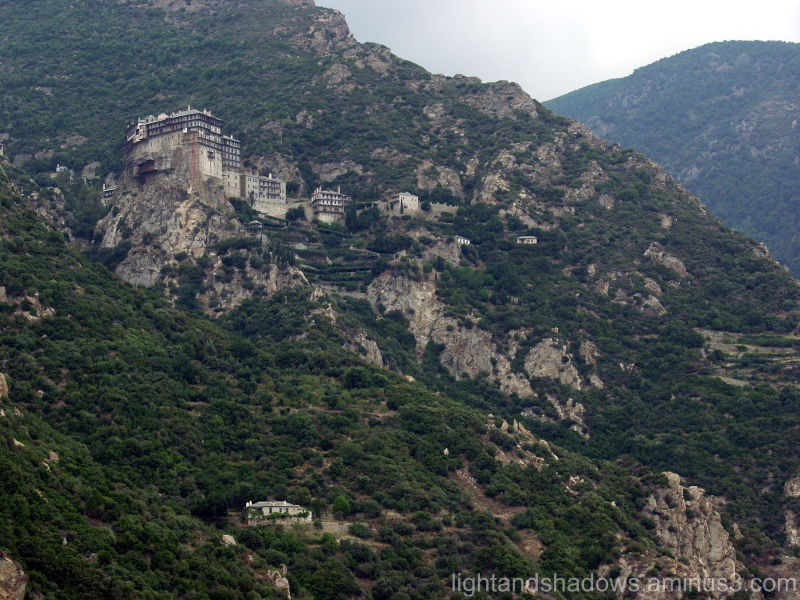 Byzantine monastery greece chalkidiki