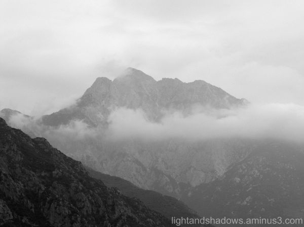 mountains greece chalkidiki