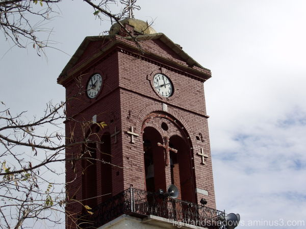 Bell tower greece Pelio