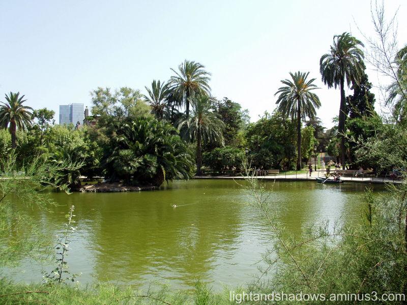 Park at Barcelona. Spain