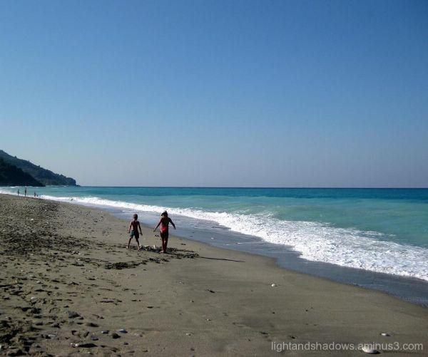 Chorefto beach at Pelio, Greece