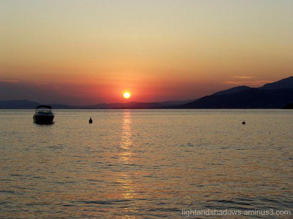 Sunset at Afissos, Pelio, Greece
