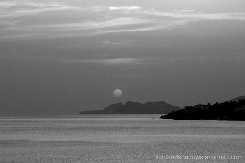 Sunset at Loutraki-Greece