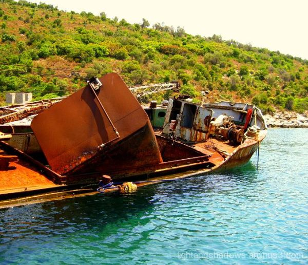 alonissos, greece, shipwreck
