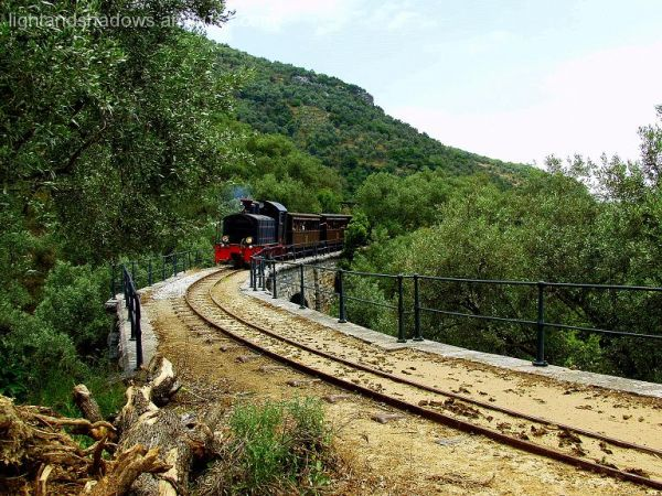 The train at Pelio mountain