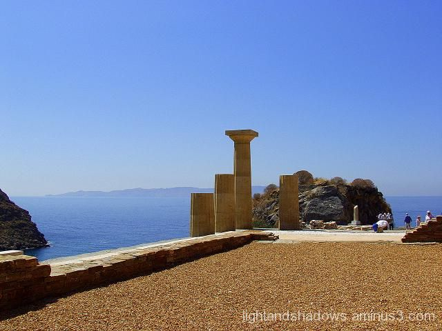 temple of athena, kea