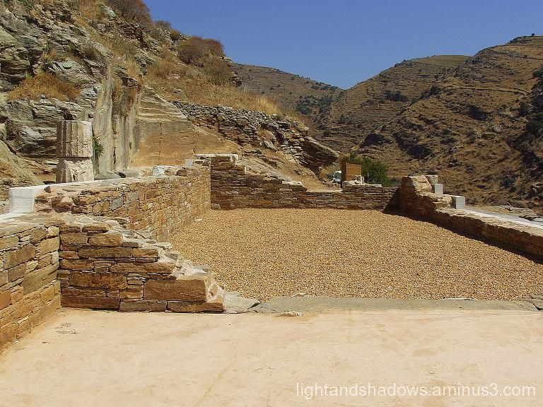 temple of athena, kea