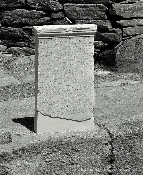 temple of apollo, kea
