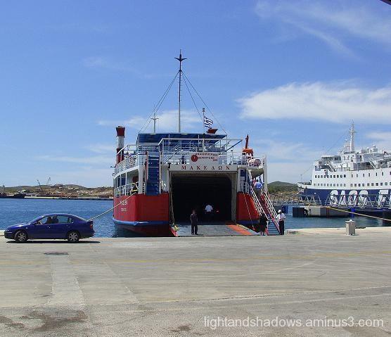 port of lavrio, greece