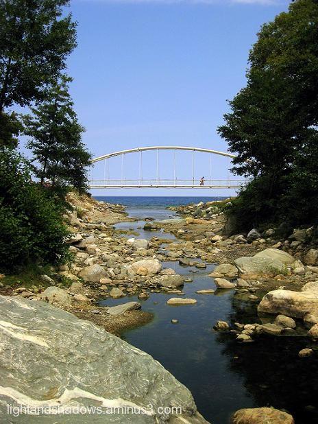 Bridge at Pelio mountain