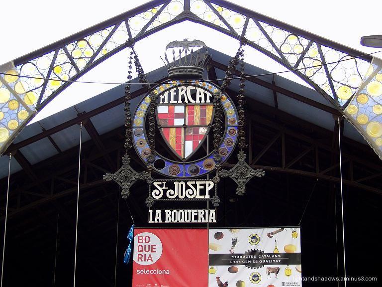 La Boqueria at Bercelona