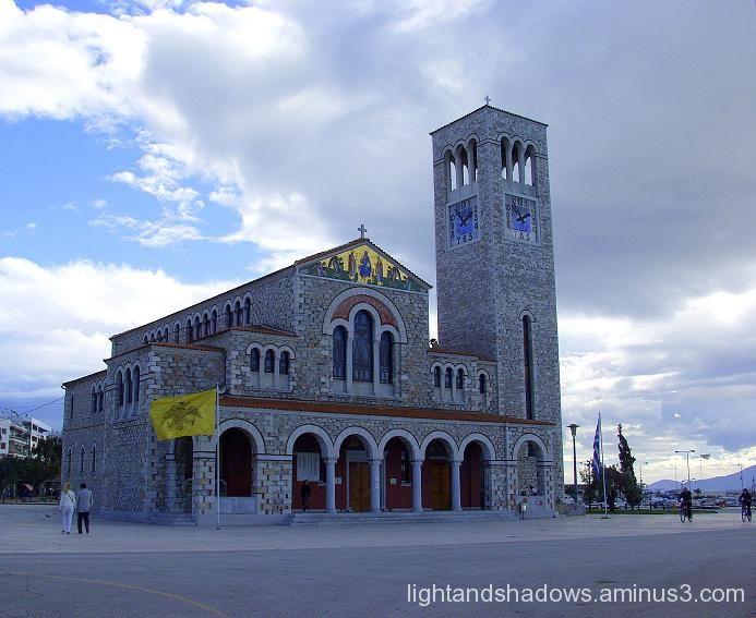 Church at volors greece
