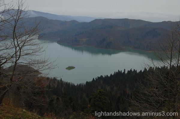 plastira's lake greece