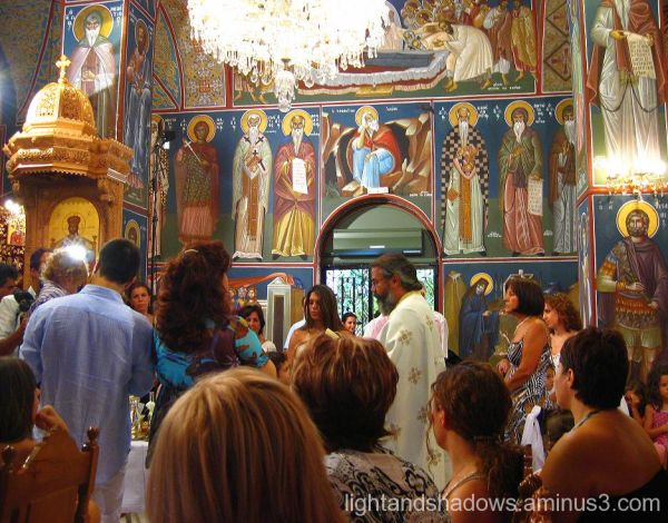 interior of orthodox church