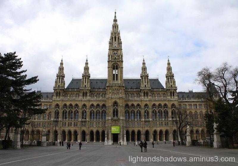 town hall of vienna austria