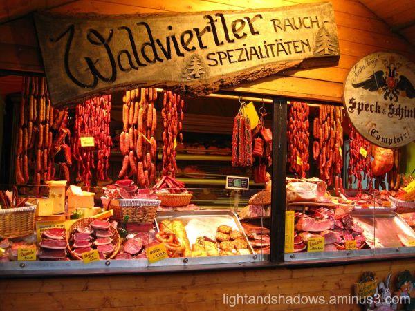 meat market at vienna