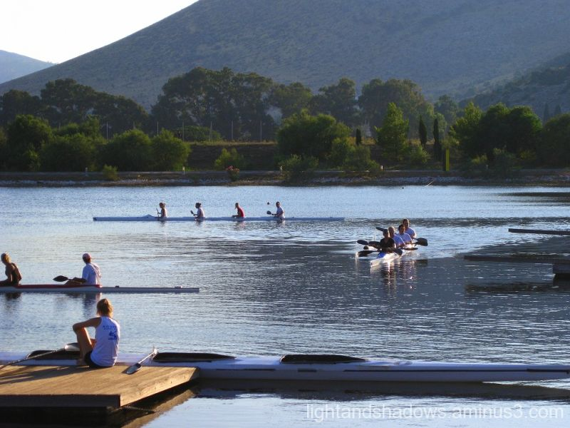 olympic rowing and canoening center of greece