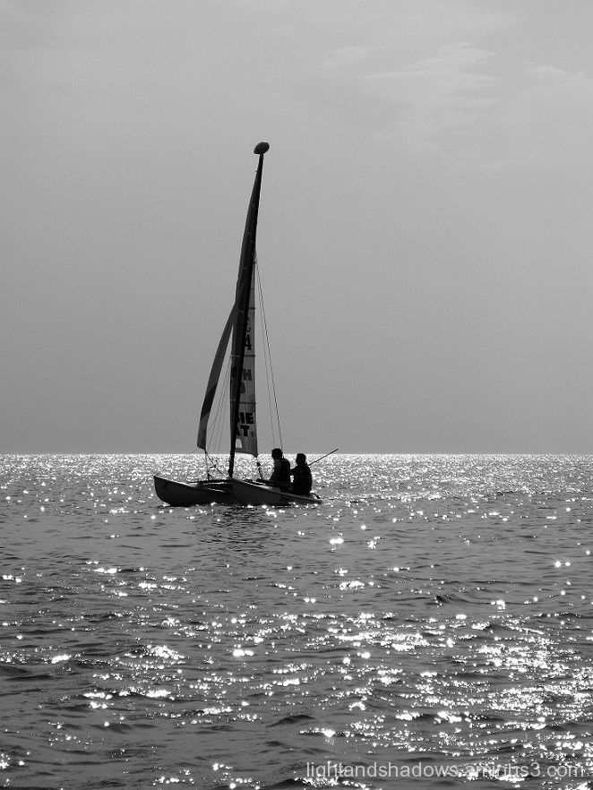 sailing at greece