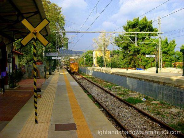 train station at greece