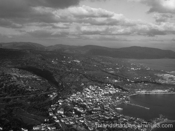 air view of samos