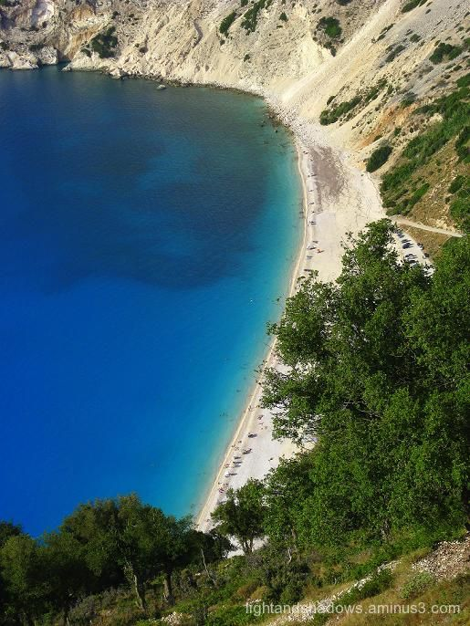 myrtos kefalonia greece