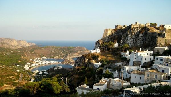 castle of Kythera Greece
