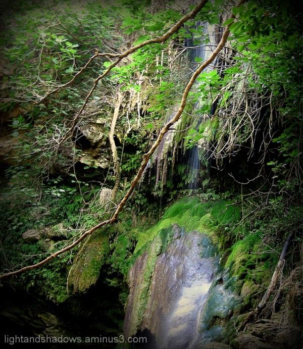 waterfall at kythera greece