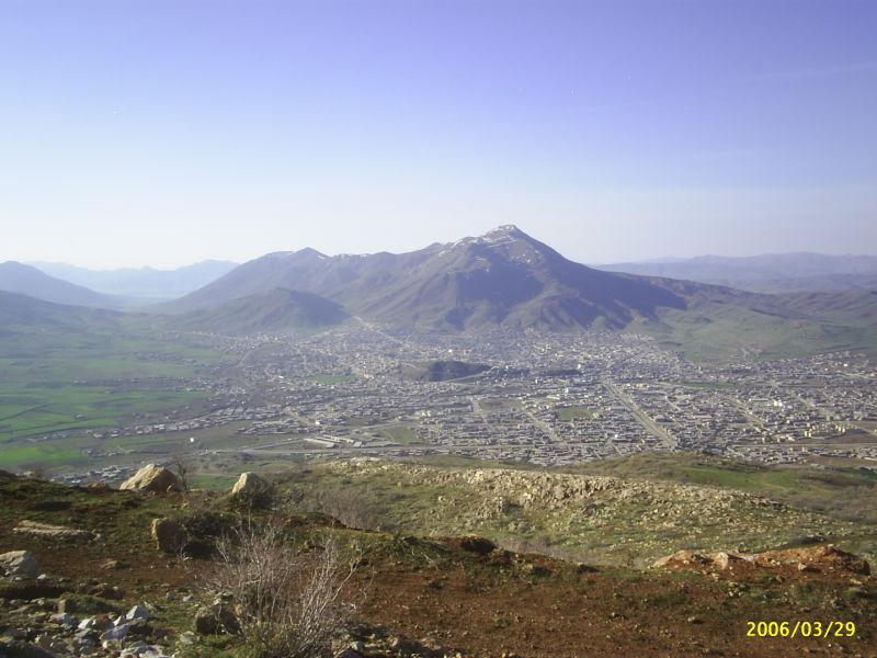 کوه جنوبی بانه