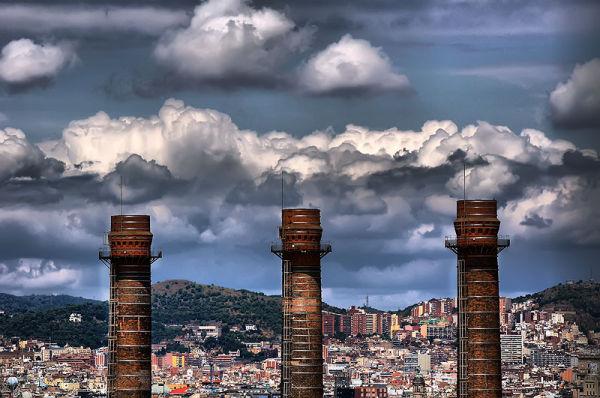 Xemeneies, Poble Sec (Barcelona)