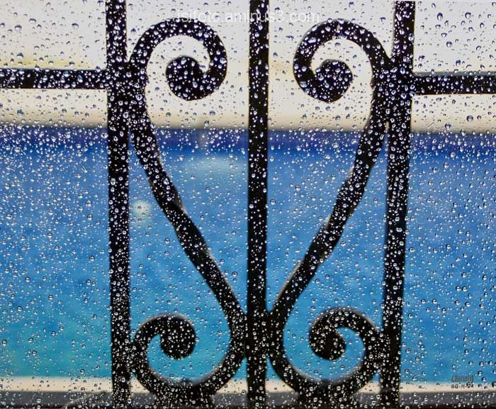 Pluja a la finestra - rain on the window