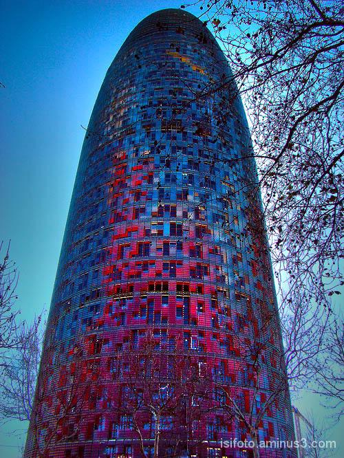 Torre Agbar, (Catalonia)