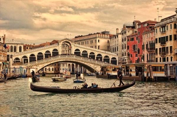 Puente Rialto , Venecia