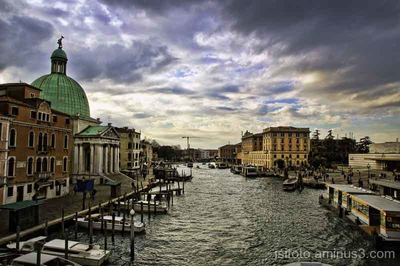 Canal Grande de Venecia