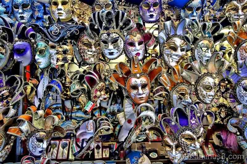 Mascaras Venecianas, carnaval