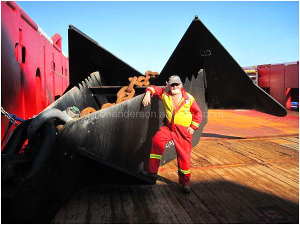 ship rig sea ocean anchor