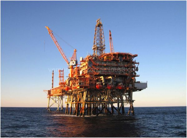 oil platform ocean