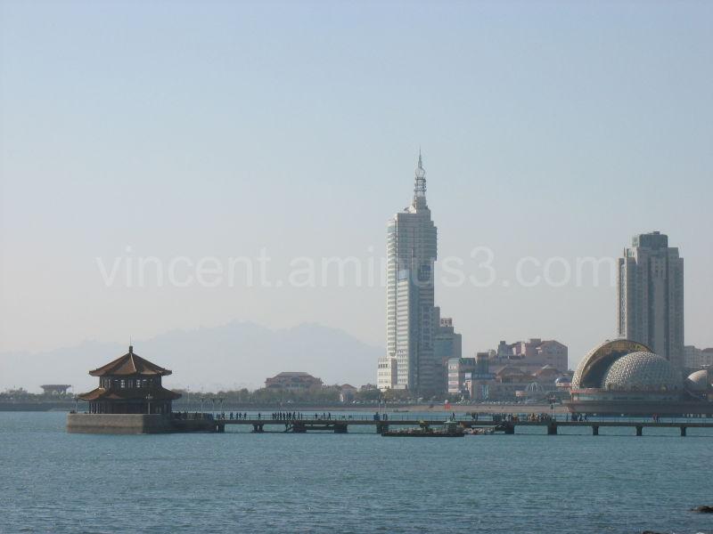 seashore in Tsingtao