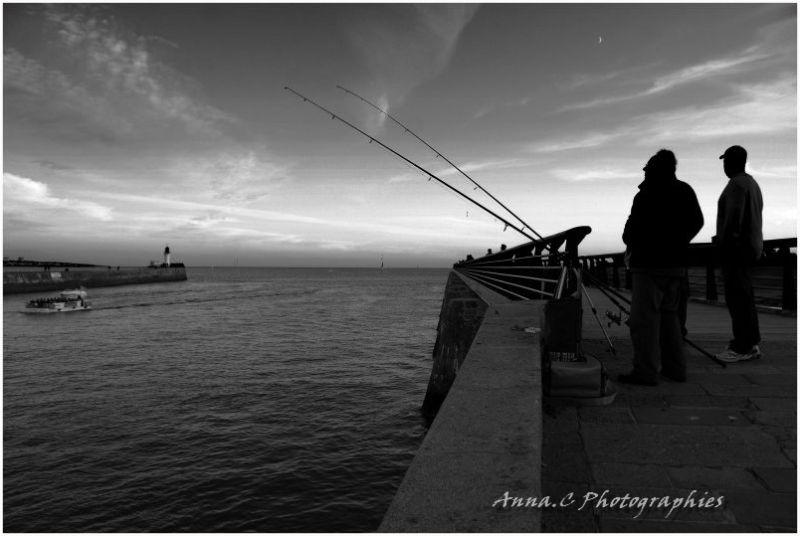 Les pêcheurs du soir