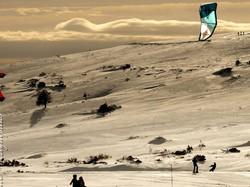 Snow-Kite session - I -