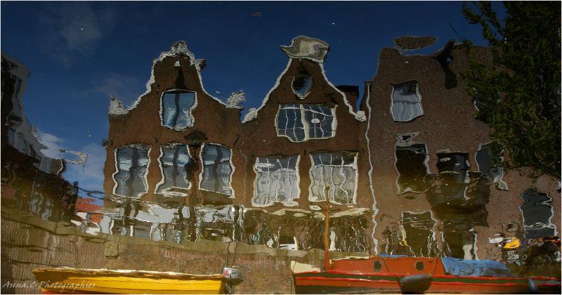 Les reflets d'Amsterdam