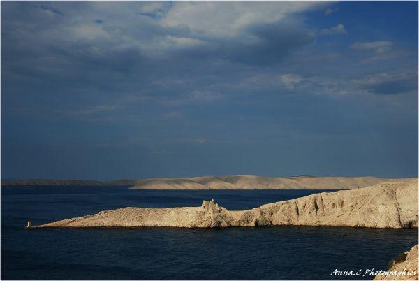 Une île....