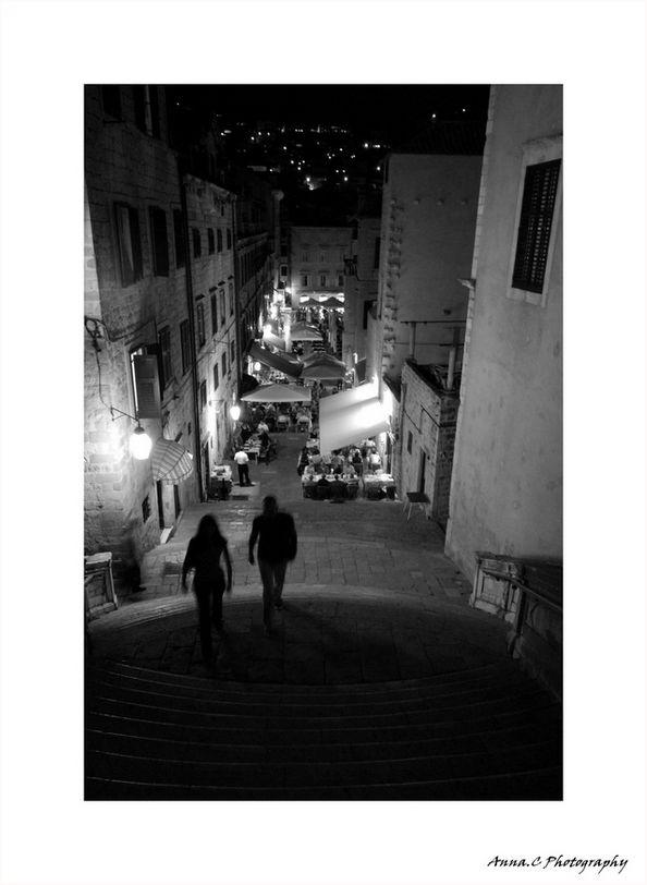 Sur les marches de Dubrovnik