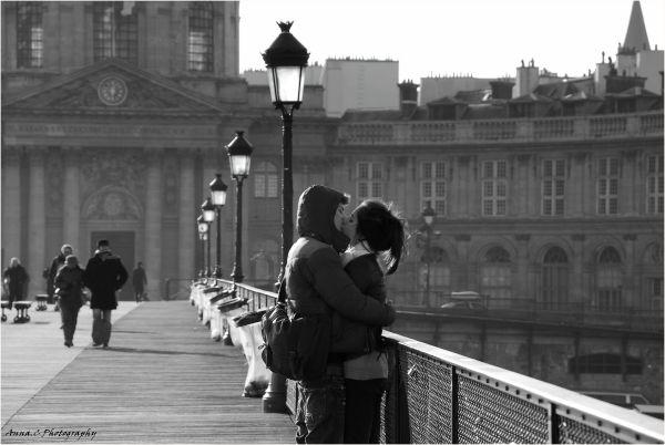 Les amoureux du Pont des Arts