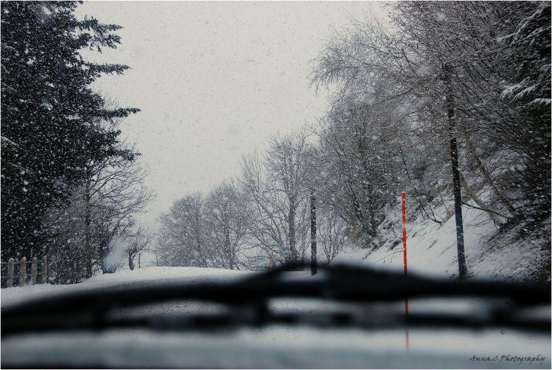 En route pour les sports d'hiver !