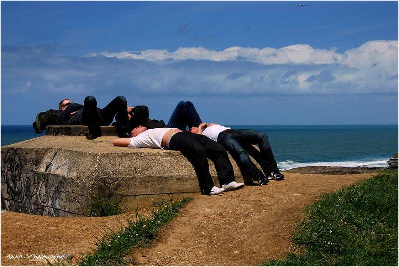 Se dorer la pilule au soleil o)