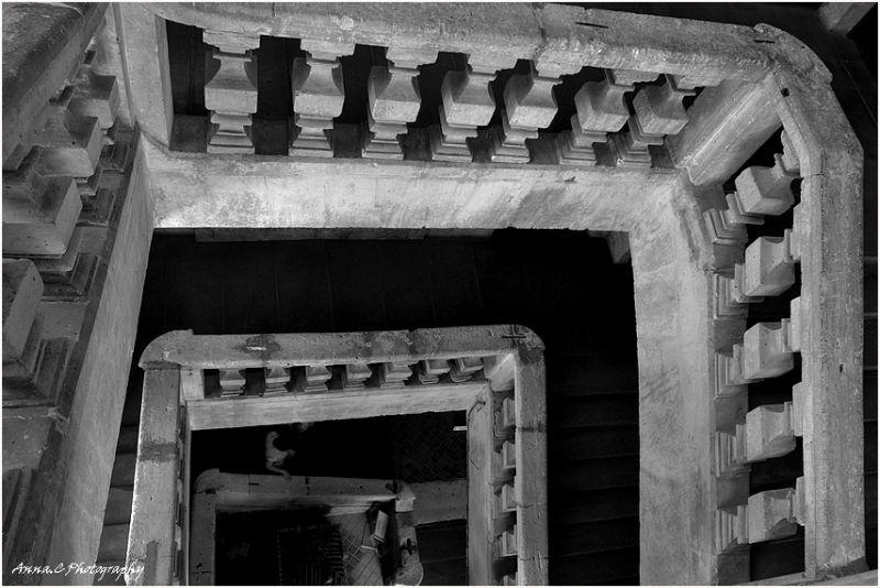 Escaliers gigognes