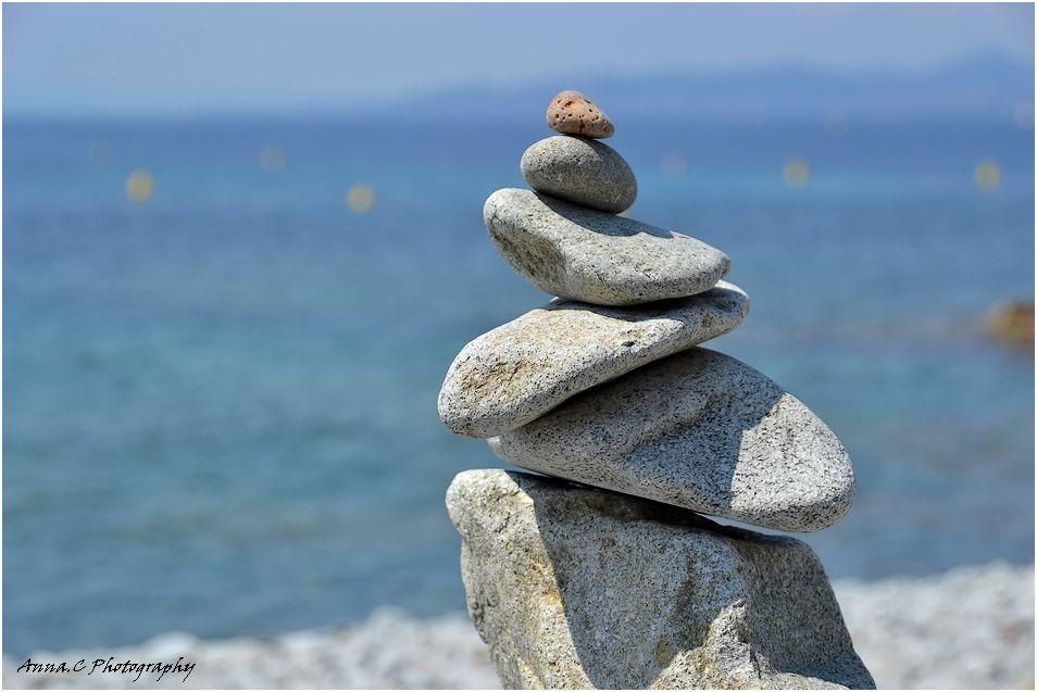 Fragile équilibre zen