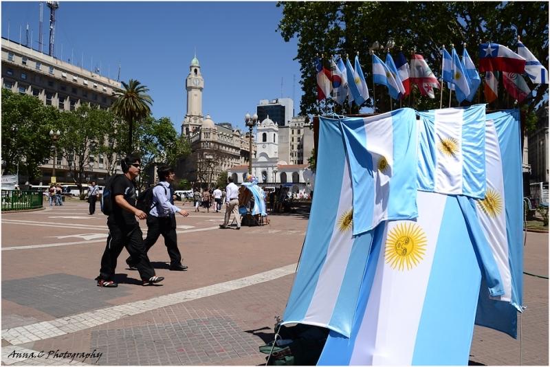 Buenos Aires # 4 marche patriotique