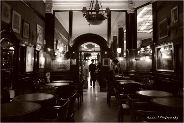 Buenos Aires # 5 Le tango du serveur