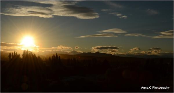 Un jour nouveau se lève sur El Calafate
